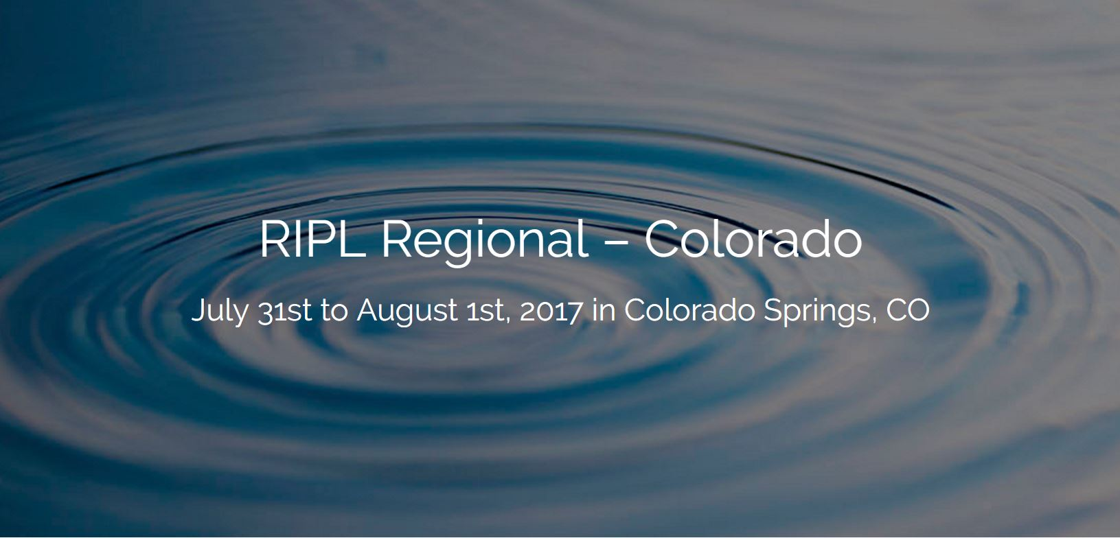Apply for a travel stipend for the 2017 Colorado RIPL Regional!
