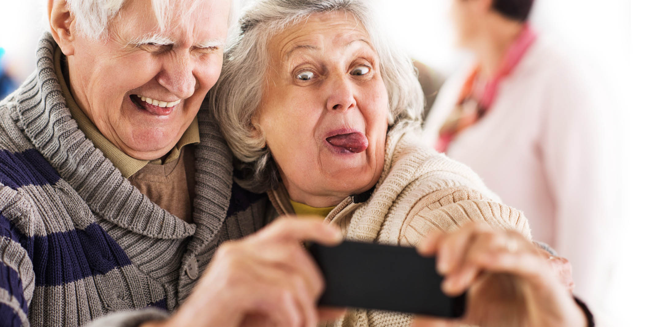 Pew survey finds that the number of seniors who own smartphones has doubled since 2013
